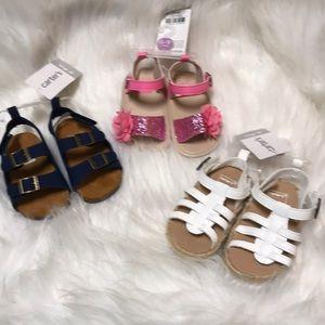 💥3 infant girl's sandals